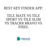 Best Key Finder App: Tile Mate vs Tile Sport vs Tile Slim vs TrackR Bravo vs Pixel